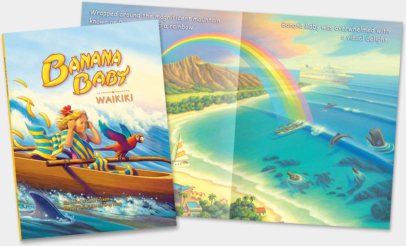 HAWAII CHILDREN BOOKS - ON SALE 50% OFF!