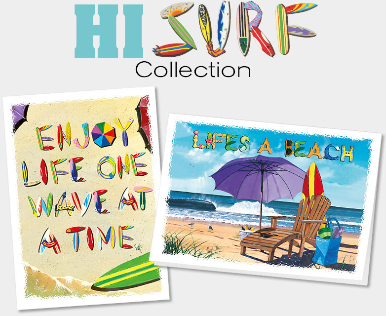 HAWAIIAN EVERYDAY BLANK COLLECTIBLE GREETING CARDS