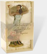 Hawaiian Holiday Christmas Porcelain Figurines