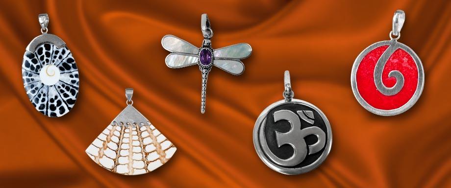 Hawaiian Jewelry - Silver Sterling Island Jewelry