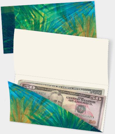 Hawaiian Money Enclosure Cards