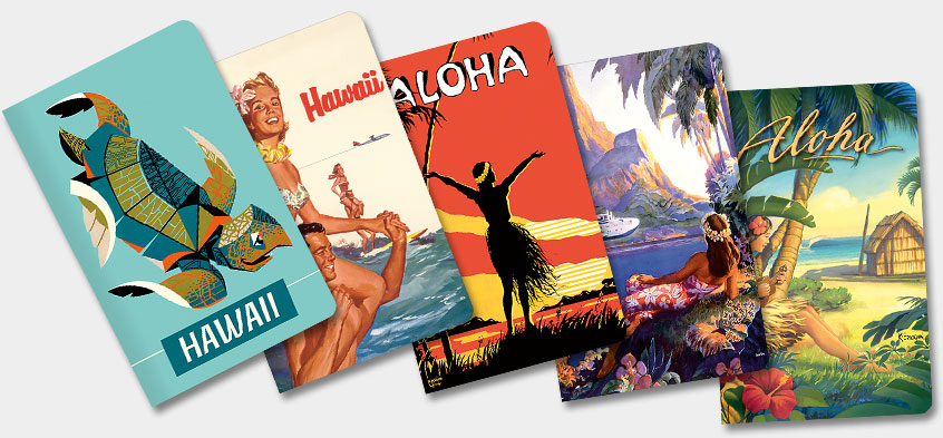 Hawaiian Mini Notebooks