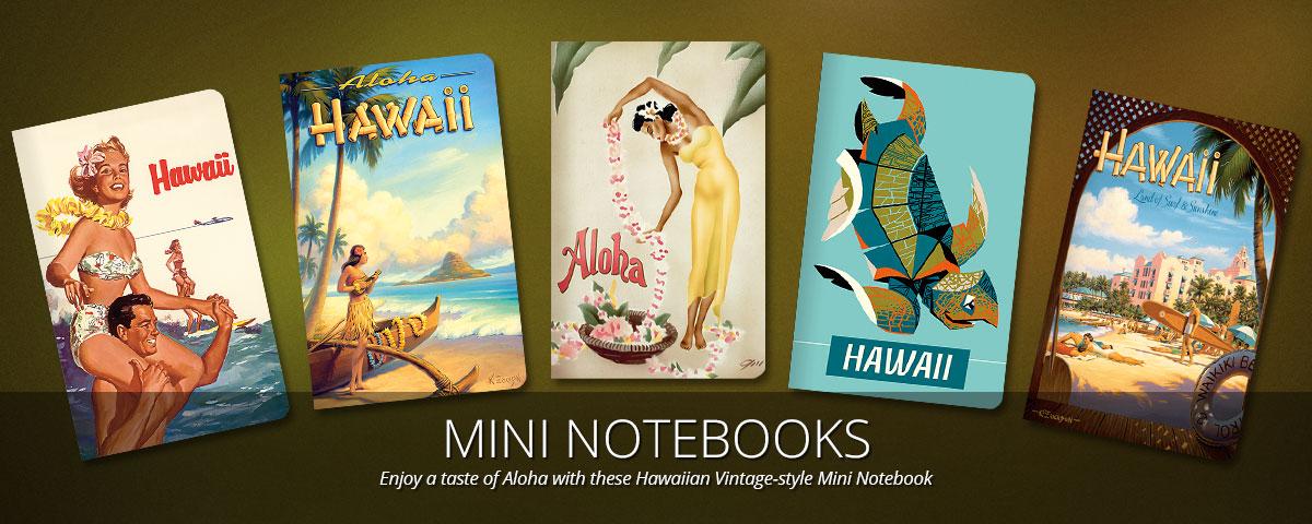 Vintage nude hawaiian sticker