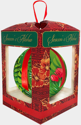 Holiday Christmas Ball Boxed Ornaments