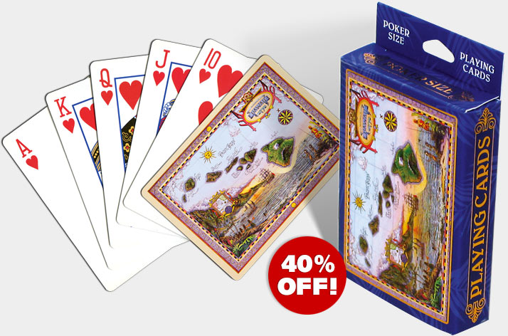 Hawaiian Playing Poker Cards - Now On Sale