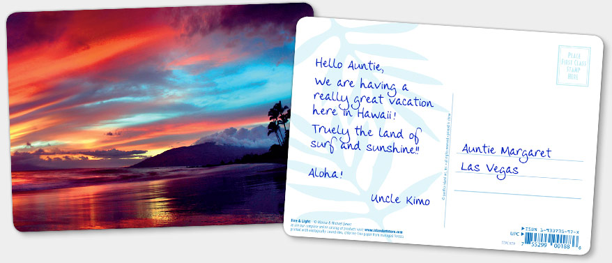 HAWAIIAN PERSONALIZED HOLIDAY CHRISTMAS GREETING CARDS