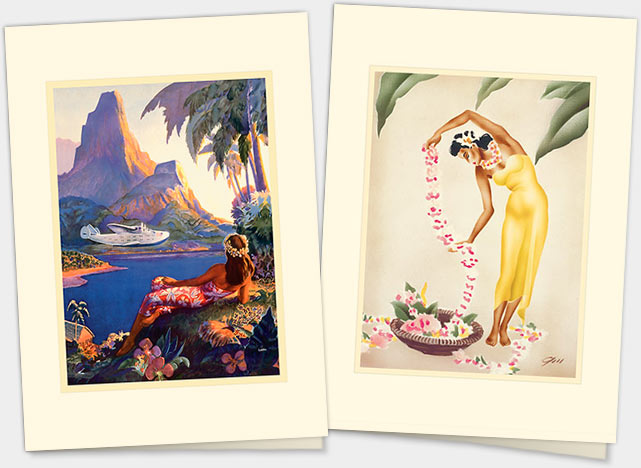 HAWAIIAN PREMIUM GREETING CARDS