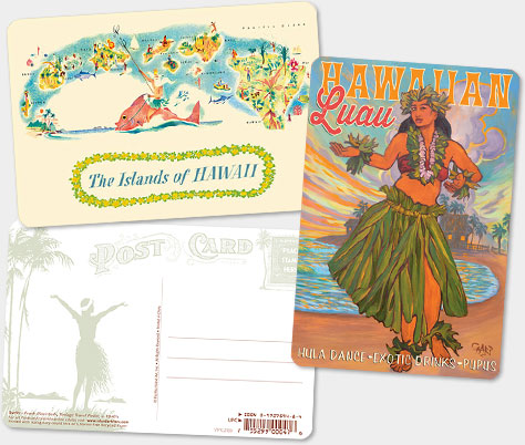 Hawaiian Vintage Postcards