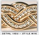 Varsha Bracelet detail view