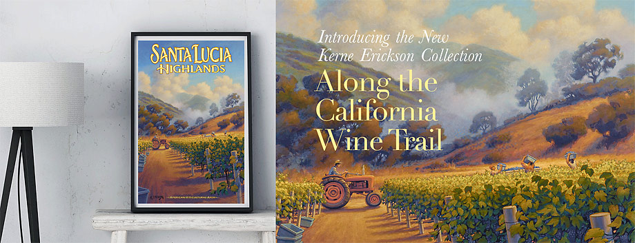 Along the California Wine Trail by Kerne Erickson