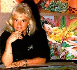 Janet Stewart Portrait