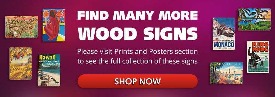 Find More Wood Signs