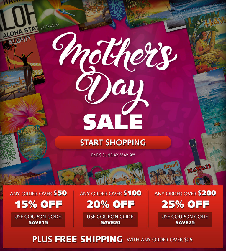 Mother's Day Special Sale - Up to 25% OFF