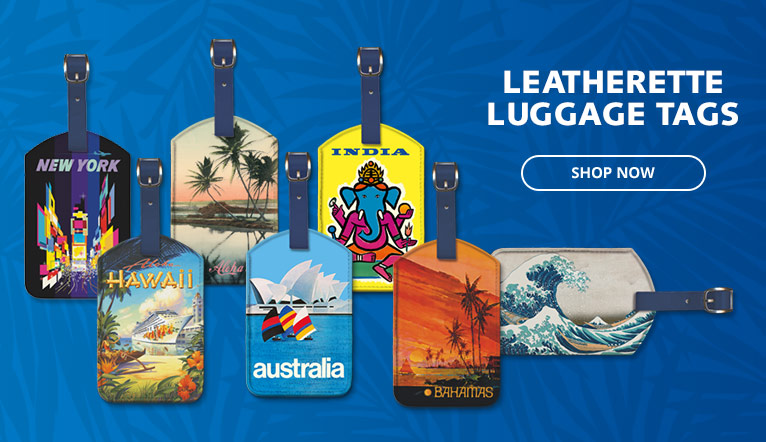 Leatheretter Luggage Tags