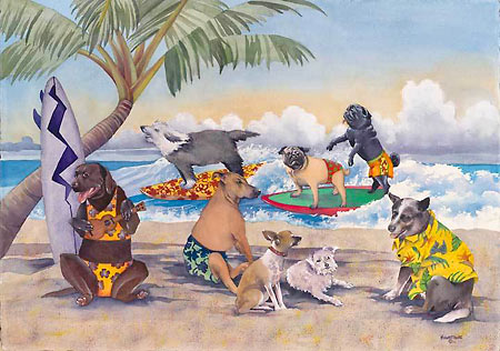 Hawaiian Art by Mary Lucas Faustine