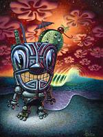 Mister Mai Tai - Fine Art Giclée Print by Brad Parker