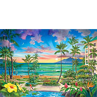 Hale Kahakai / Westin Maui - Limited Edition Canvas Giclée Art Print