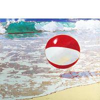 Beachball At Poipu - Limited Edition Giclée Canvas Prints