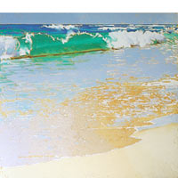 A Tranquil Beach - Limited Edition Giclée Canvas Prints