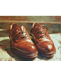 Brown Shoes - Limited Edition Giclée Canvas Prints