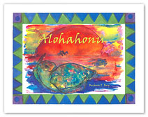Alohahonu - Hawaiian Children's Book