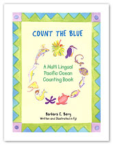 Count the Blue - Hawaiian Children's Book
