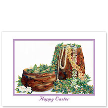 A Lei Never Forgotten - Hawaiian Collectors Edition Greeting Cards - Easter Cards
