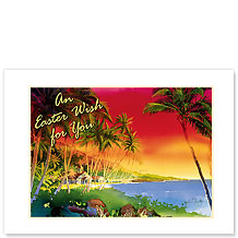 Easter at Hawai'i Nei - Hawaiian Collectors Edition Greeting Cards - Easter Cards