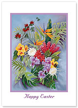 Island Floral - Hawaiian Collectors Edition Greeting Cards - Easter Cards