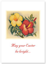 Hawaiian Hibiscus - Hawaiian Collectors Edition Greeting Cards - Easter Cards