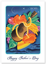 Essence of Aloha - Hawaiian Collectors Edition Greeting Cards - Father's Day Cards