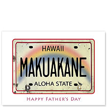 Makuakane - Hawaiian Collectors Edition Greeting Cards - Father's Day Cards
