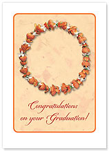 Graduation Lei - Hawaiian Collectors Edition Greeting Cards - Graduation Cards