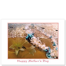 Fragrant Memories - Hawaiian Collectors Edition Greeting Cards - Mother's Day Card