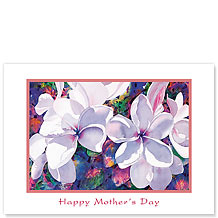 Jeweled Plumeria - Hawaiian Collectors Edition Greeting Cards - Mother's Day Card