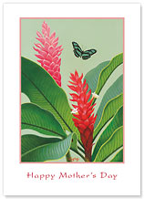 Peppermint Ginger - Hawaiian Collectors Edition Greeting Cards - Mother's Day Card