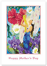 A Lei of Aloha - Hawaiian Collectors Edition Greeting Cards - Mother's Day Card