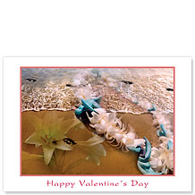 Fragrant Memories - Hawaiian Collectors Edition Greeting Cards - Valentine's Day Card