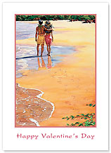 Sweethearts - Hawaiian Collectors Edition Greeting Cards - Valentine's Day Card