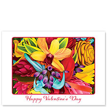 Floral Explosion - Hawaiian Collectors Edition Greeting Cards - Valentine's Day Card