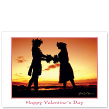 Love Gives Life Within - Hawaiian Collectors Edition Greeting Cards - Valentine's Day Card