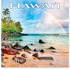 Hawaii Landscapes - 2019 Deluxe Hawaiian Wall Calendar