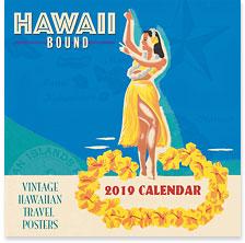 Hawaii Bound - 2019 Deluxe Hawaiian Wall Calendar