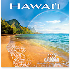Hawaii Landscapes - 2020 Deluxe Hawaiian Wall Calendar