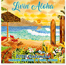 Livin' Aloha - 2020 Deluxe Hawaiian Wall Calendar