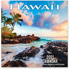 Hawaii - 2021 Deluxe Hawaiian Wall Calendar