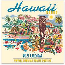 Hawaii Bound - 2021 Deluxe Hawaiian Wall Calendar