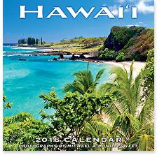Hawaii Landscapes - 2016 Deluxe Hawaiian Wall Calendar