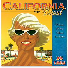 California Bound - 2016 Deluxe Hawaiian Wall Calendar