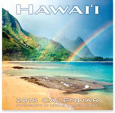 Hawaii Landscapes - 2018 Deluxe Hawaiian Wall Calendar